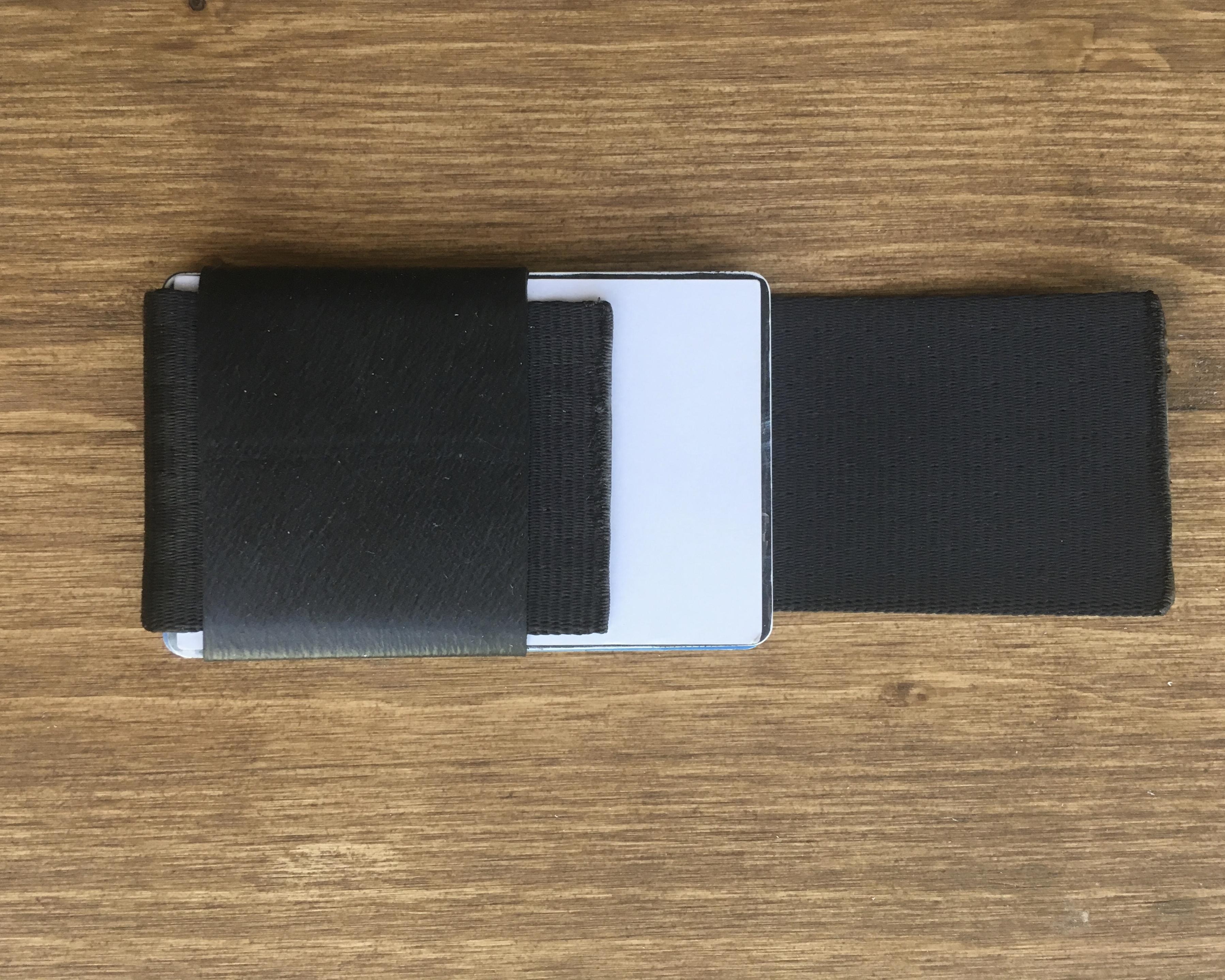 Picture of Seatbelt Webbing Minimalist Wallet