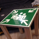 Making a Table From Trafficsign for Under 10€