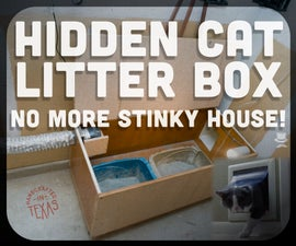 How to Hide a Stinky Cat Box