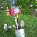Golf Club Caddy Garden Cart