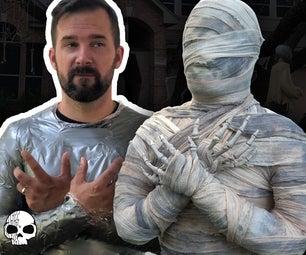 DIY Halloween Mummy