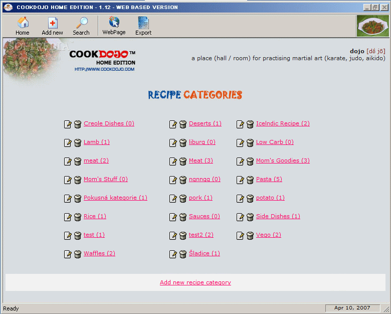 Picture of Web Based Sites and Software.