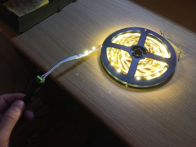 Test the LED Strip