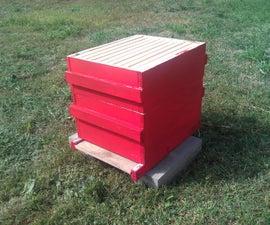 10-Frame Langstroth Beehive