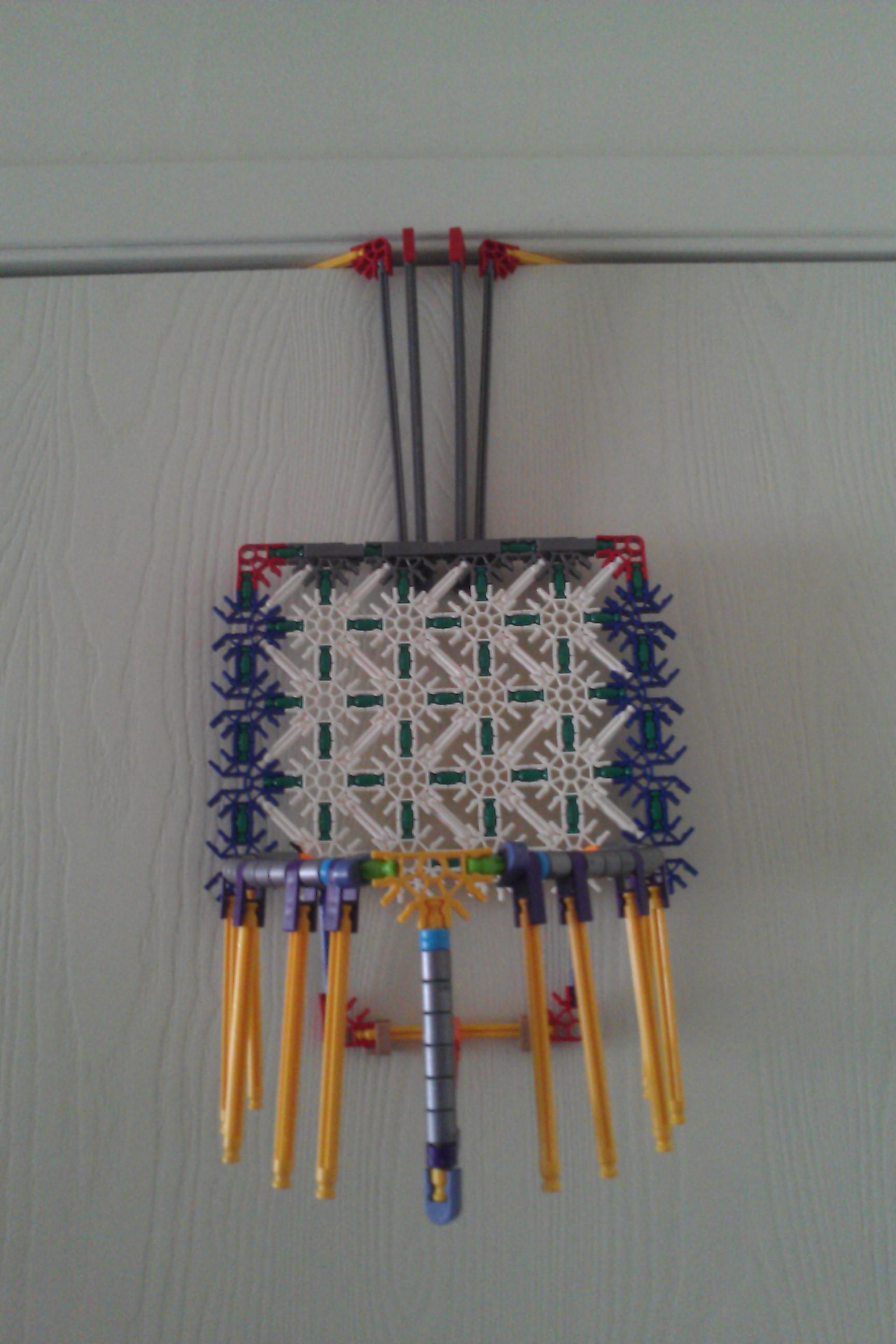 Picture of Adjustable Door Mounted K'nex Basketball Hoop