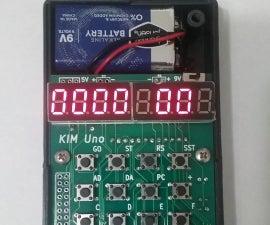 Enigma Z30 Machine Simulator for Kim UNO, an Arduino based KIM 1 simulator