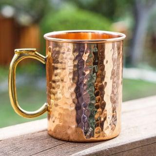 Tall hammered copper mug.jpg