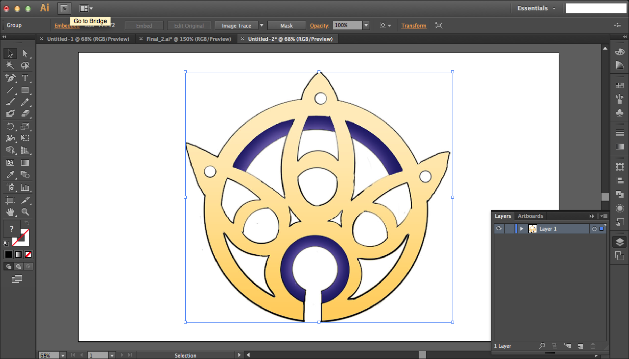 Picture of Lighter Colors for Vectorization
