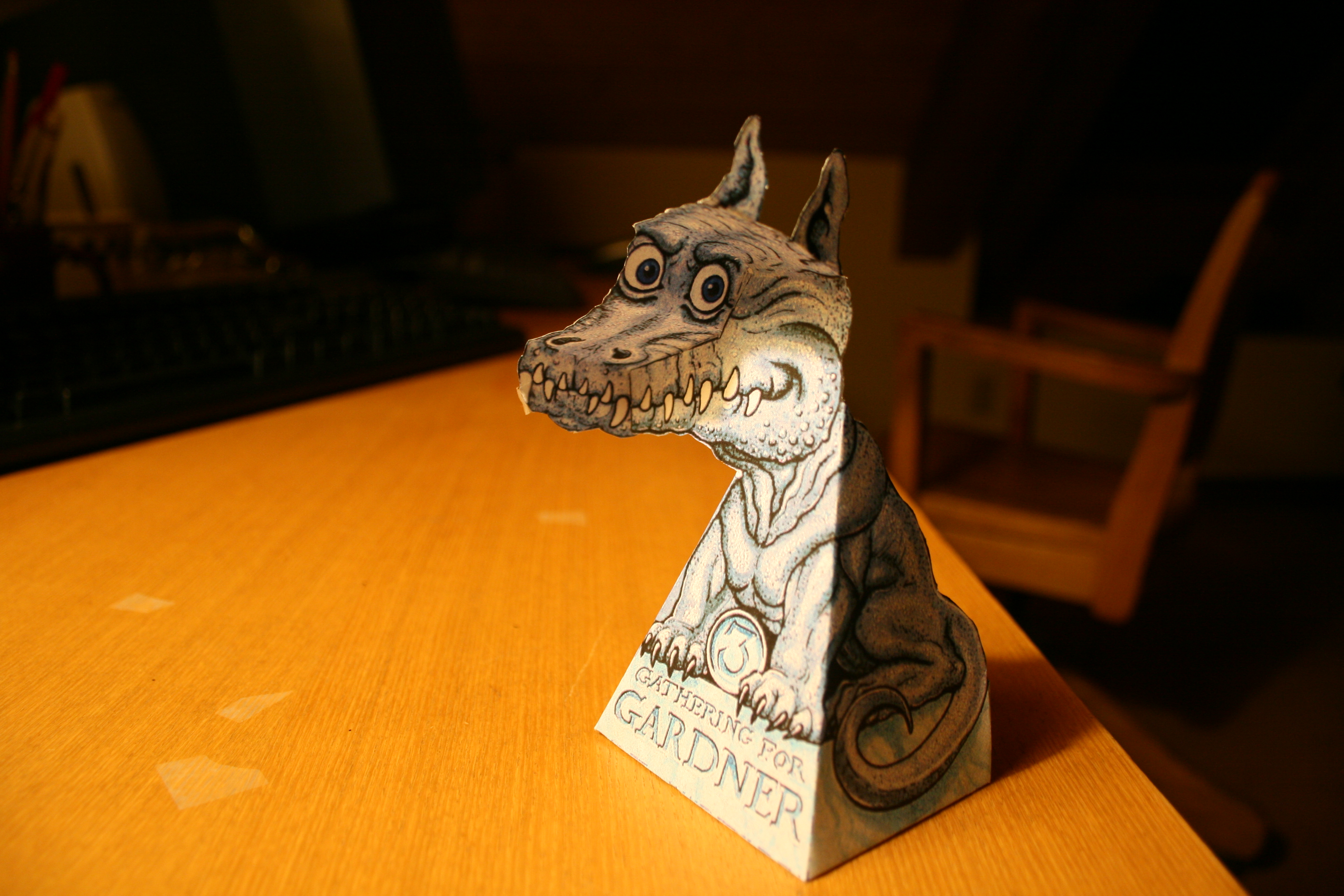 Picture of Hollow Face Illusion Dragon Without Leaving Your Desk!