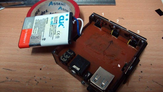 MP3 Power Supply and Wiring