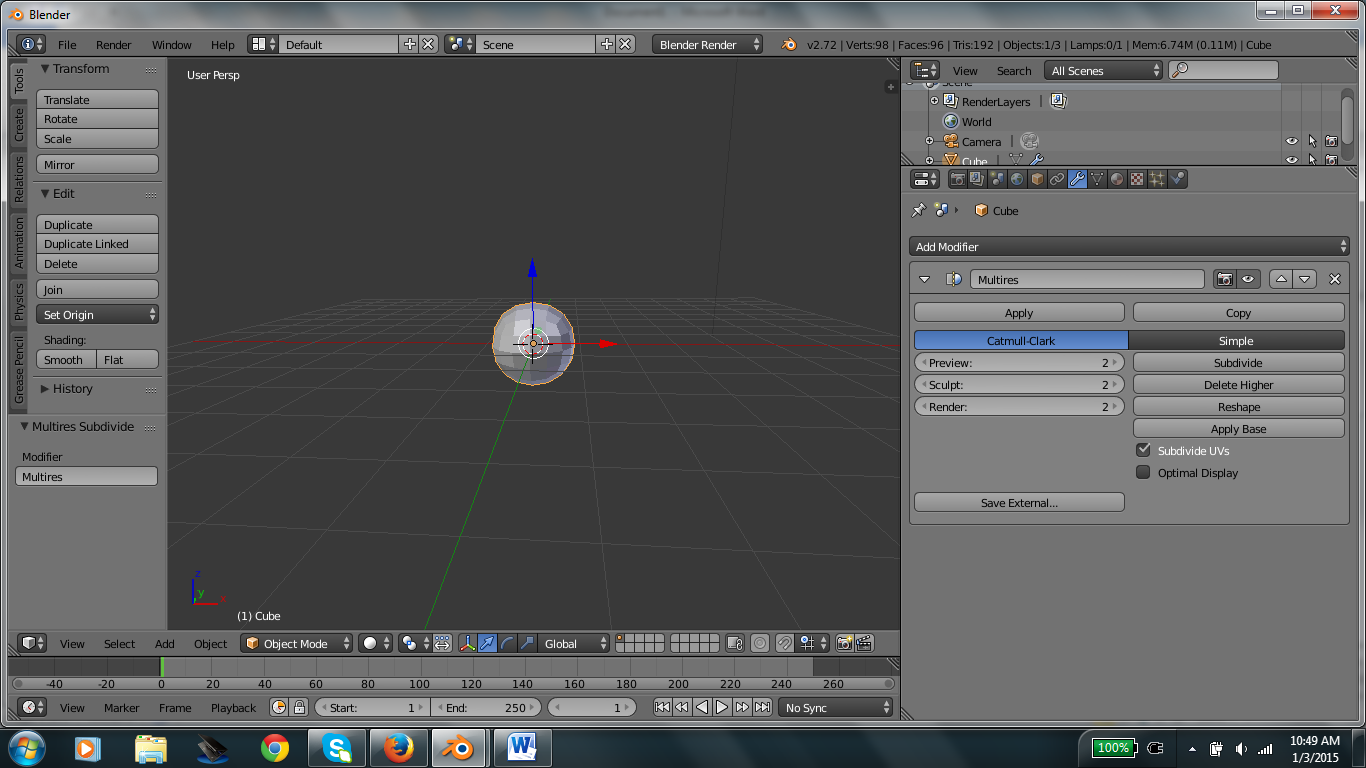 Picture of How to Model a Human Head in Blender (without Make Human)