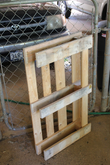 Picture of Use the Leftover Pallet Pieces to Make the Back of Your Furniture
