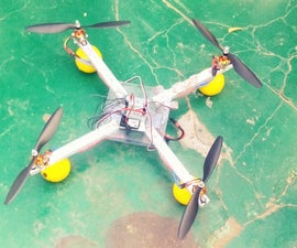 DIY-GETTING STARTED WITH DRONES (WITH REMOTE CALLIBRATION)