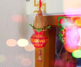 DIY Kalash Door Hanging | DIY Kalash Decoration | Traditional Door Hanging | DIY CraftsLane