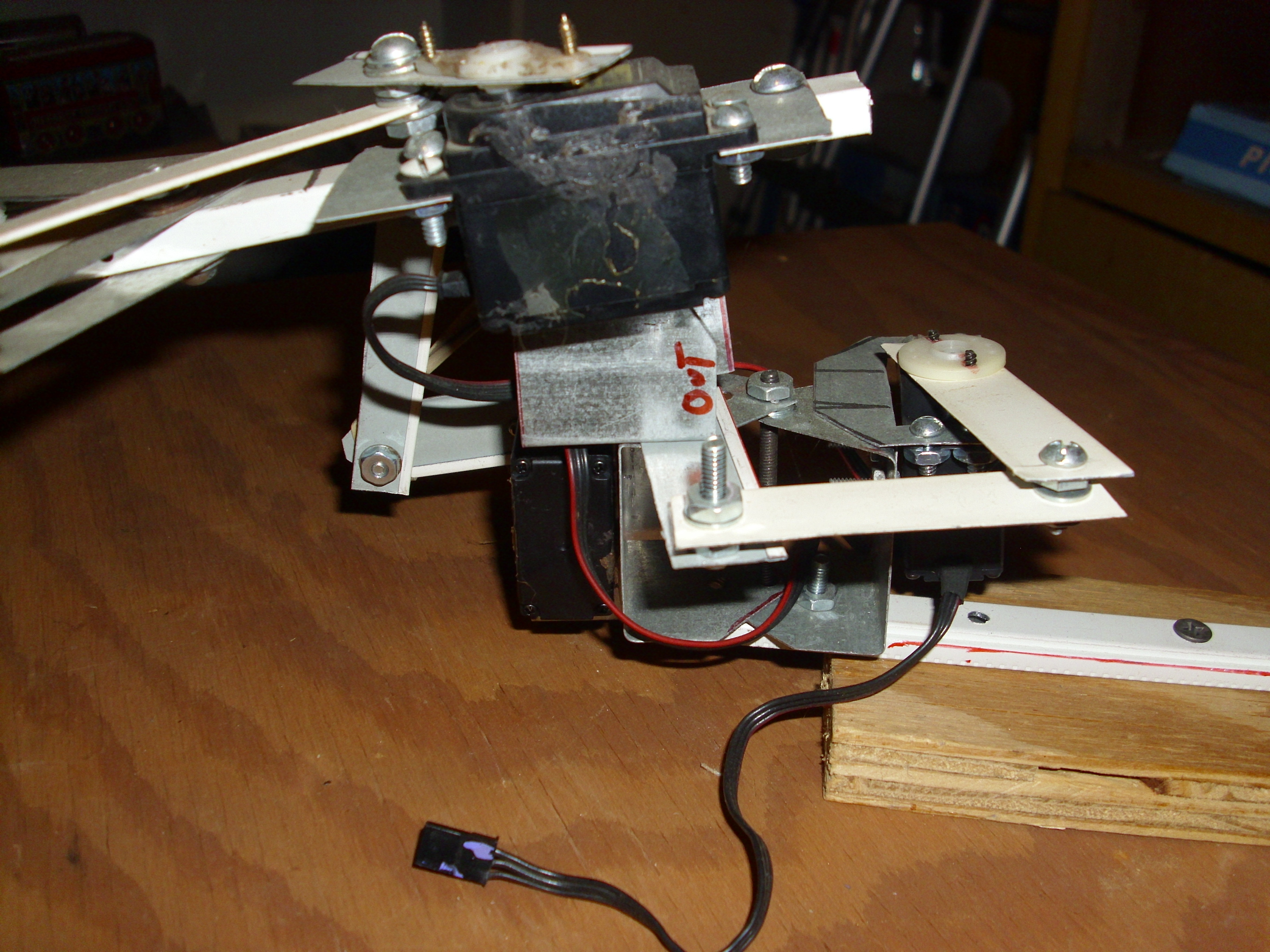 Picture of Views of Finished Remote Controlled Gripper