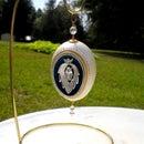Silver Pendant Egg - Faberge' WannaBe