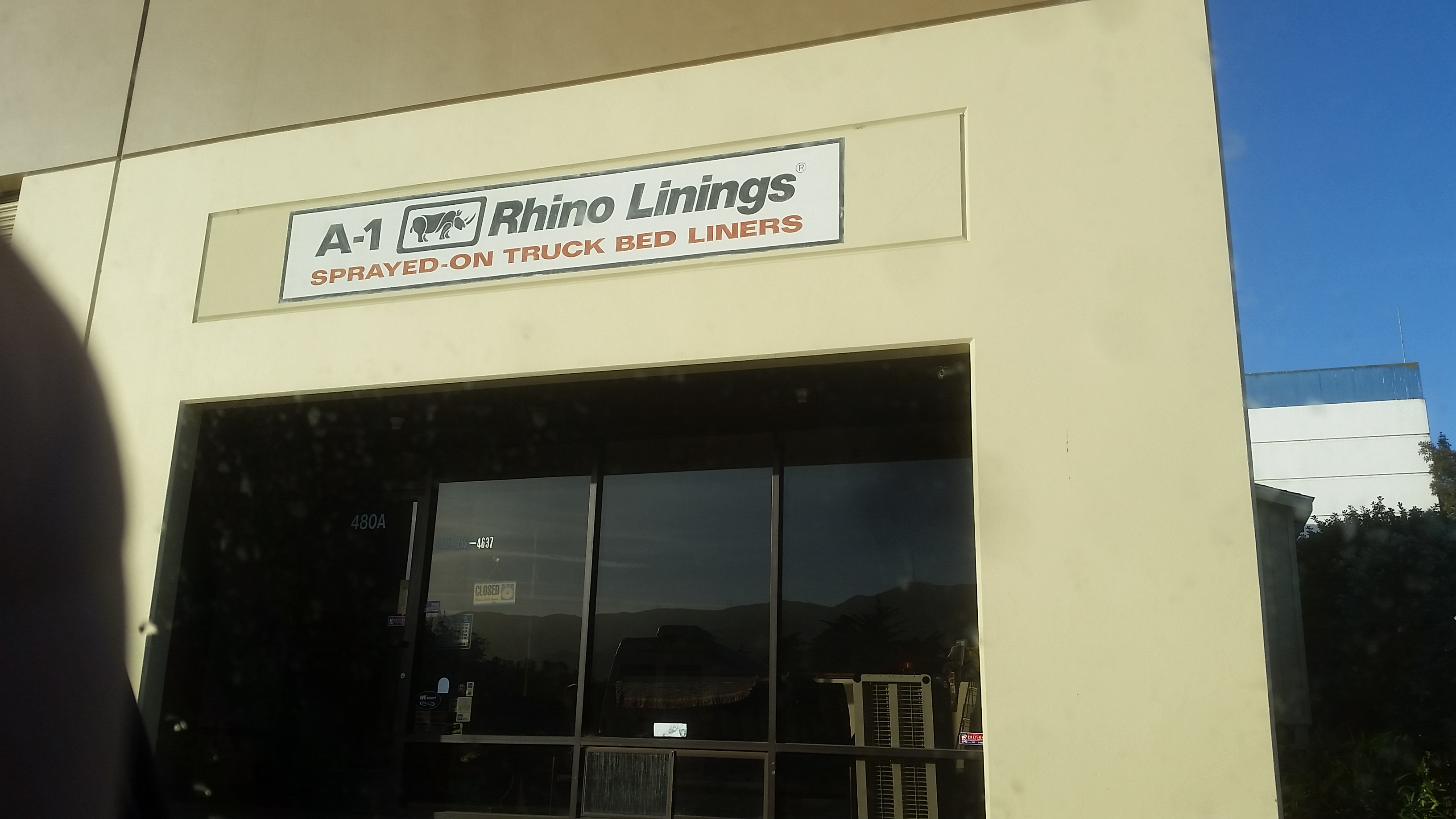 Picture of Rhino Lining the Forms
