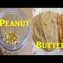 Home Made Organic Peanut Butter