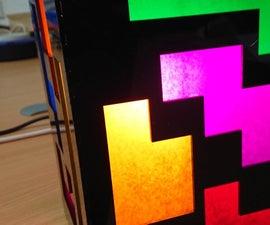 Tetris Inspired Lamp