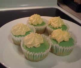 Key Lime & French Vanilla Cheesecake Cupcakes