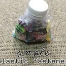 Simple Plastic Fastener