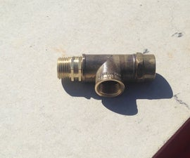 How to make a safety valve