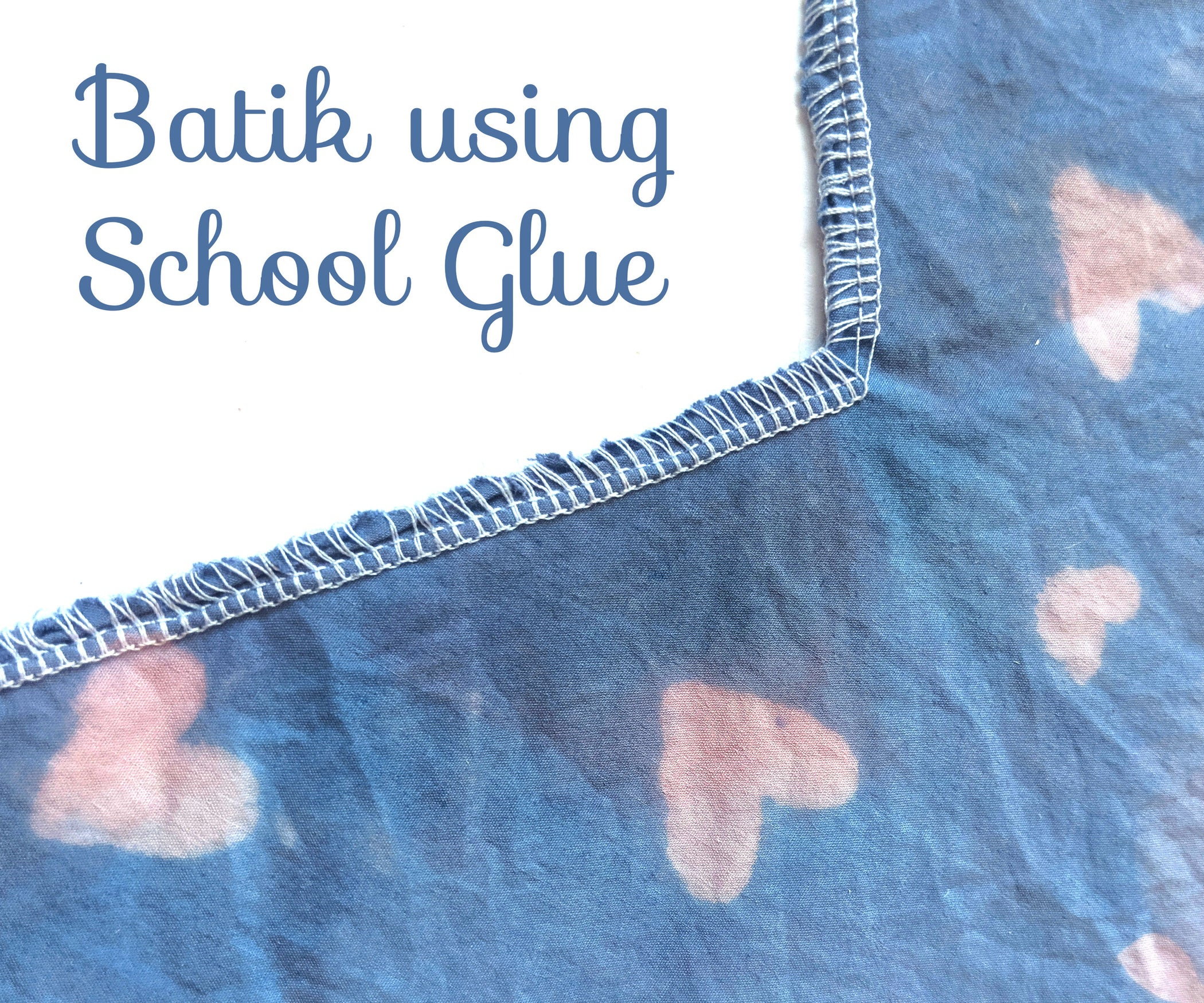 Easy Batik Using School Glue : 5 Steps (with Pictures