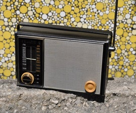 How to Repair and Revive an American Made Zenith Transistor Radio.