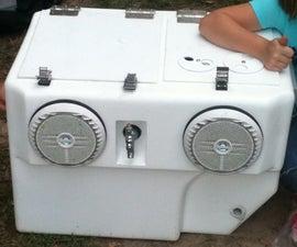 Carbon Fiber Draft Beer Dispensing Stereo Cooler