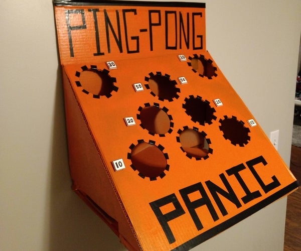 Ping Pong Panic - Children's Party Game