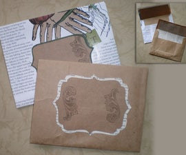 Recycled Paper Envelopes Tutorial