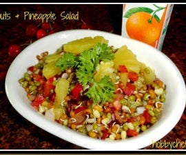 Sprouts & Pineapple Salad