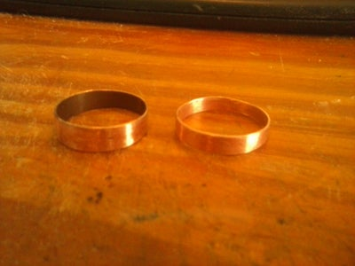 Seamless Copper Ring