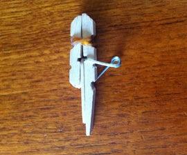 Simple Clothespin Gun