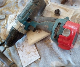 12V Makita NiCad to Lithium Ion Conversion of 1222 Battery