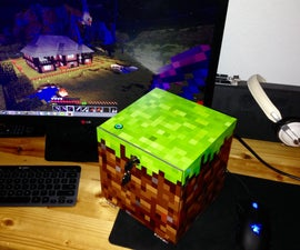 How To: Personal Minecraft Server in Custom Block Case