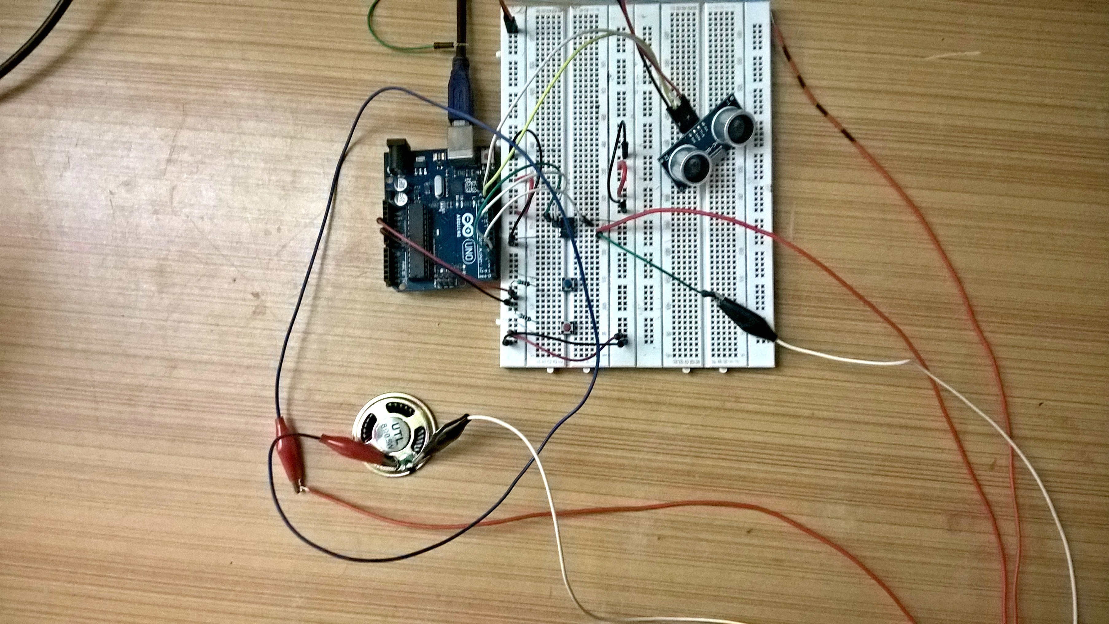 Picture of Connect the Speaker.
