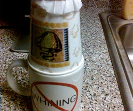 One Cup Coffee Brewing, Cheap (Free!) and Easy!