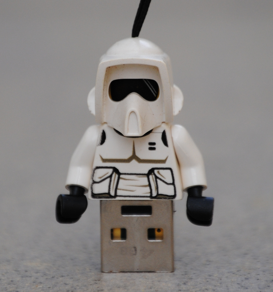 Picture of Lego Minifig USB Keychain