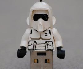 Lego Minifig USB Keychain