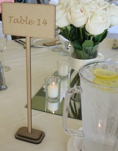 Simple Table Signs!