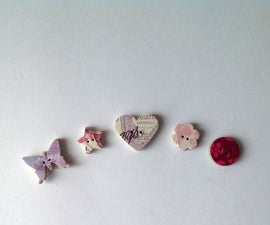 Beautiful Buttons From Junk