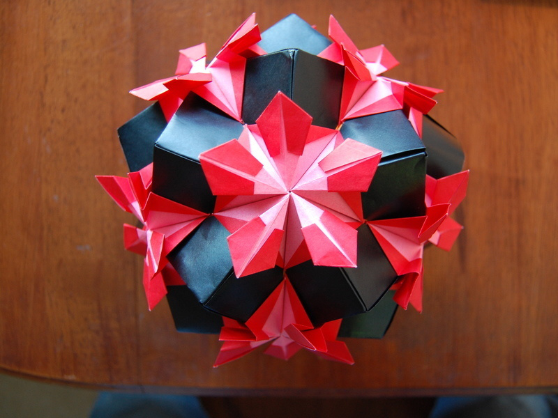Picture of Origami Ball - Kusudame