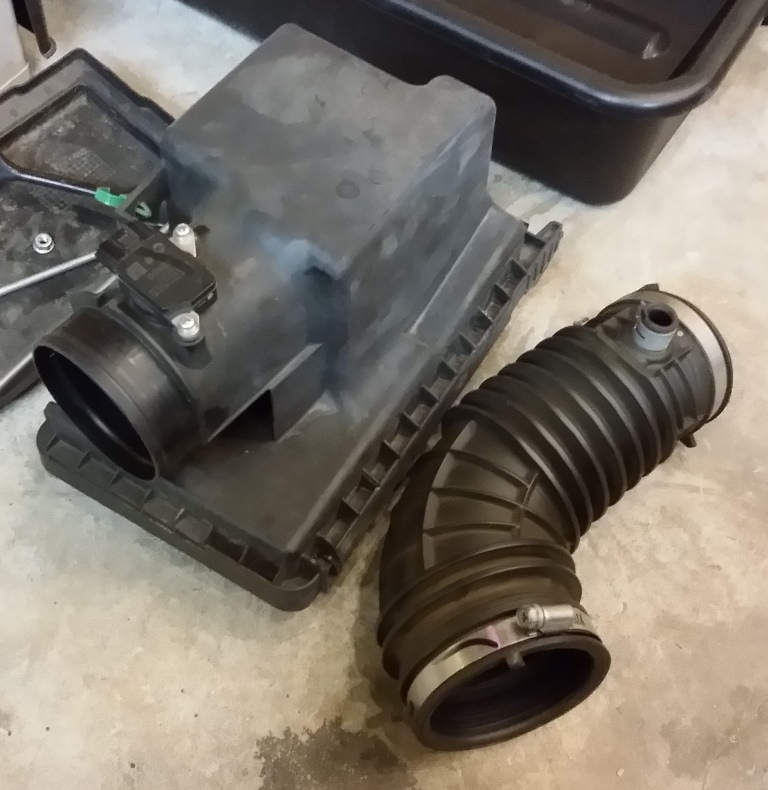 Picture of Remove the Battery and Air Intake