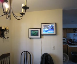Dual Screen Digital Picture Frame & Family Center