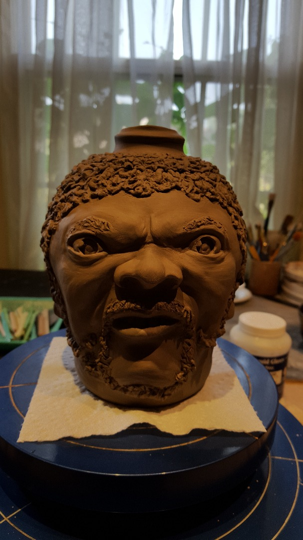 Picture of How to Make a Portrait Face Jug