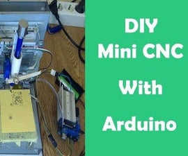 Diy Mini CNC Plotter Machine With Old DVD Motor's & ArduinoUNO