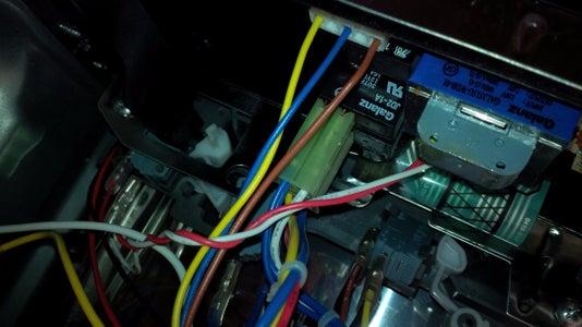 Find the Buzzer and Remove Circuit Board