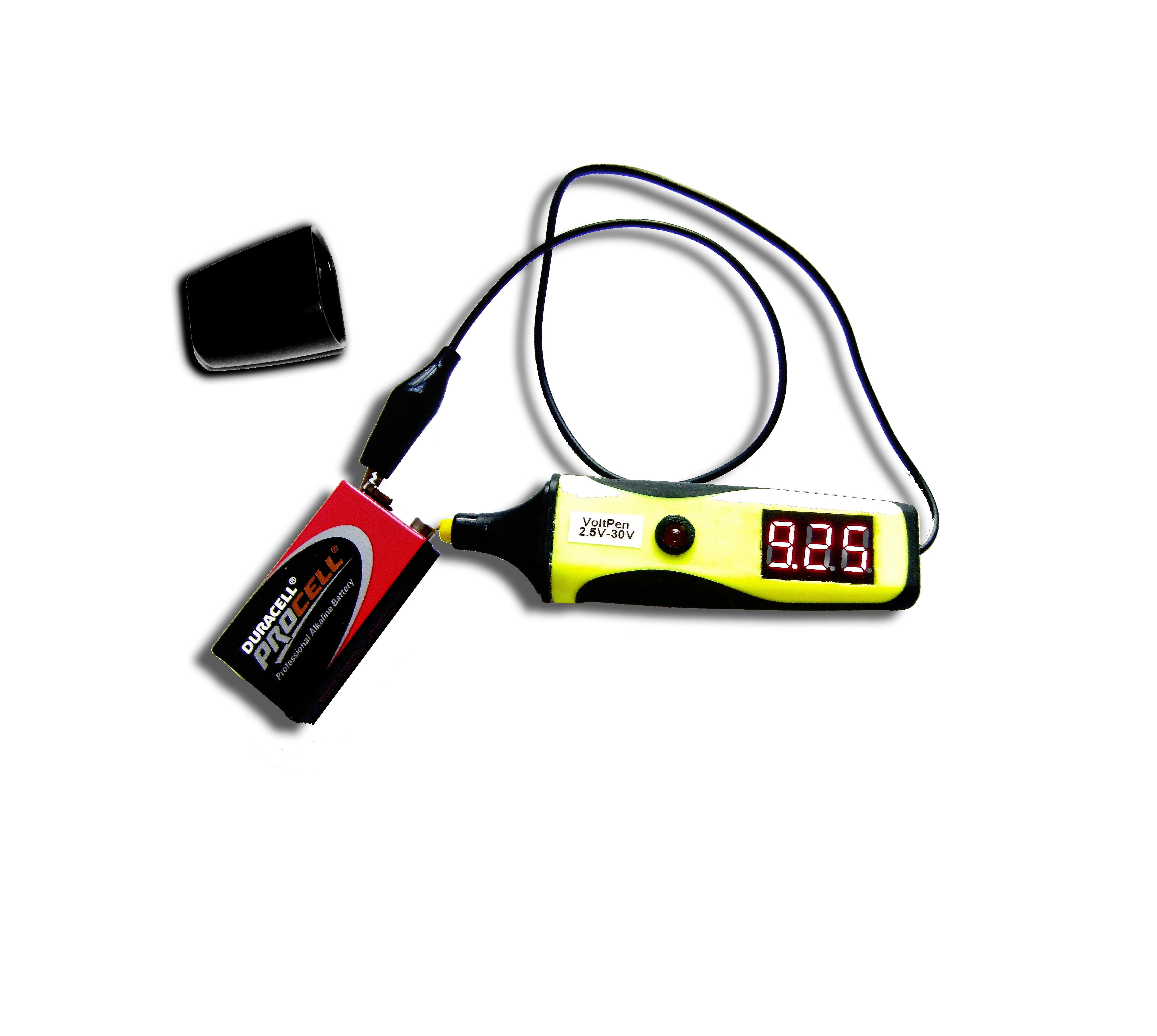 Picture of The VoltPen (Highlighter Into Voltmeter)