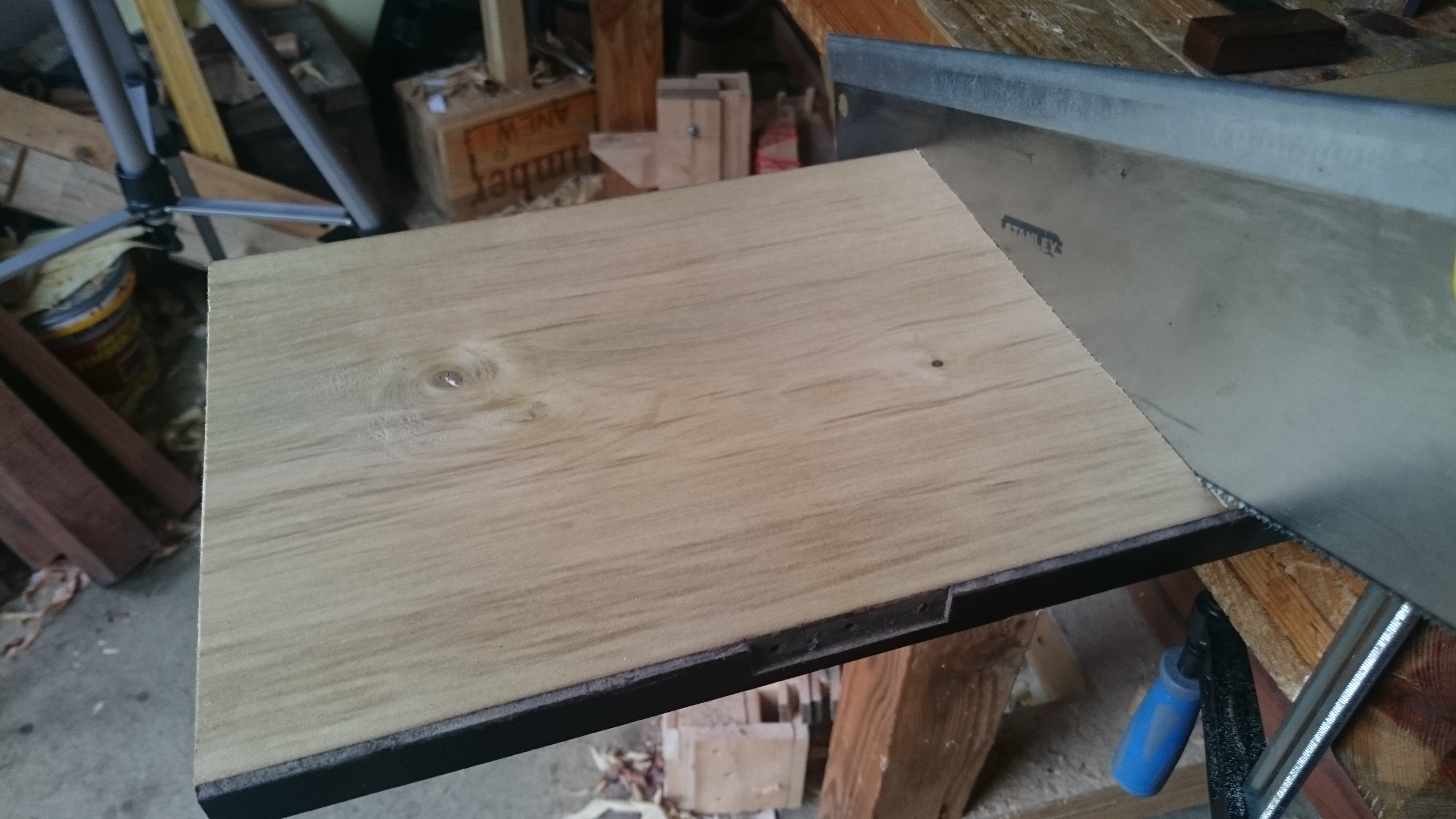 Picture of Preparing and Cutting the Board to Size